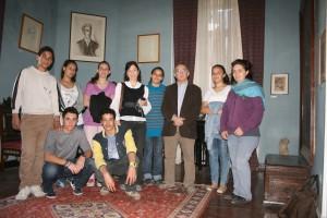Επίσκεψη μαθητών του Αβερώφειου Γυμνασίου –Λυκείου στην Οικία- Μουσείο Καβάφη