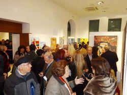 Παρουσία πλήθους κόσμου πραγματοποιήθηκαν τα εγκαίνια της Έκθεσης Αιγυπτιωτών Εικαστικών.